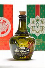 7 bottles of Jule Aalborg Akvavit