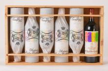 6 bottles of 2001 Chateau Mouton Rothschild, Pauillac