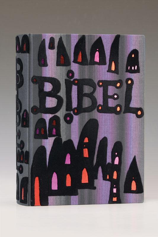 The Bible illustrated of Hundertwasser