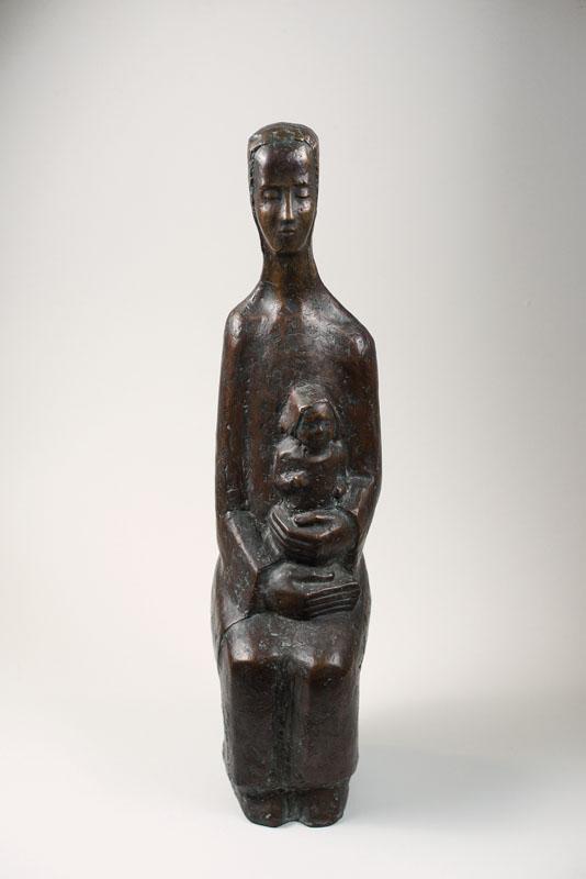 Erich Glauer, 1903-1987, bronze