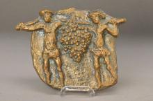 Bruno Fay, born 1935, bronze relief