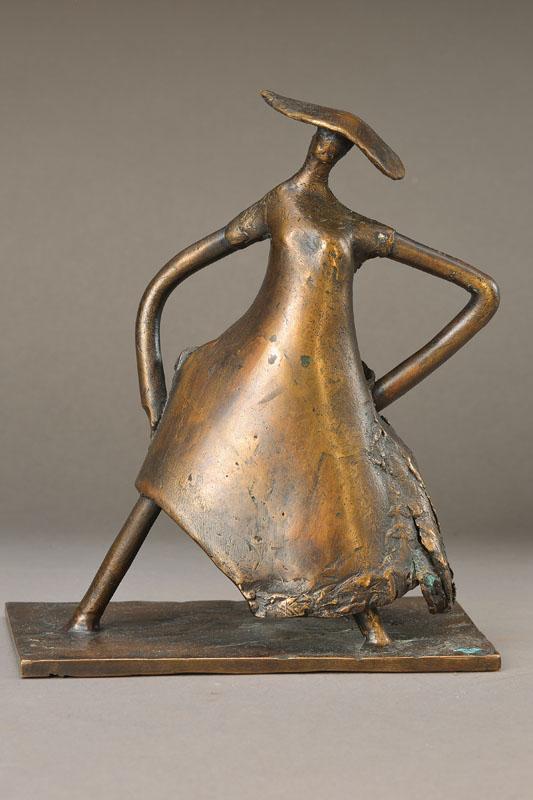 monogrammist AW, bronze sculpture
