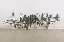 Heinz Kassung, 1935-2013 Koblenz, iron relief
