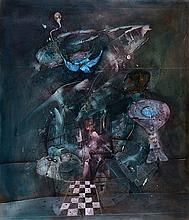 Gerd Ditz, born 1941 Landau, Dark pleasure, oil/canvas