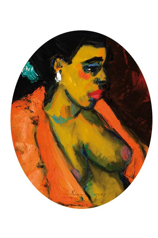 Gernot Kissel, 1939-2008, oil/canvas