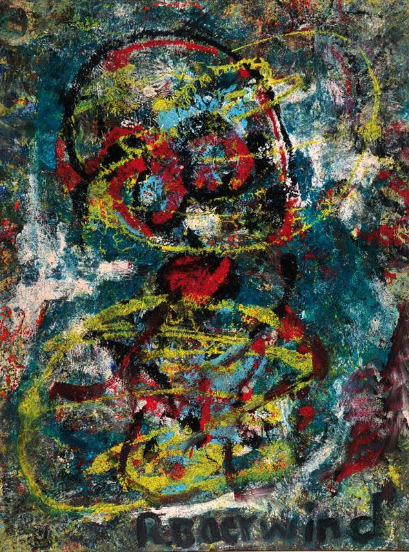Rudi Baerwind, 1910-1982, oil/cardboard