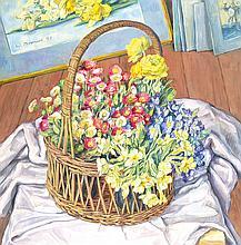 Werner Brand, born 1933 Löbau/Sachsen, oil/canvas