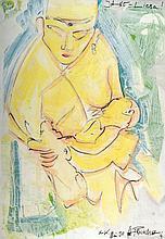 Guntram Prochaska, born 1958 Grötzingen, mixed media