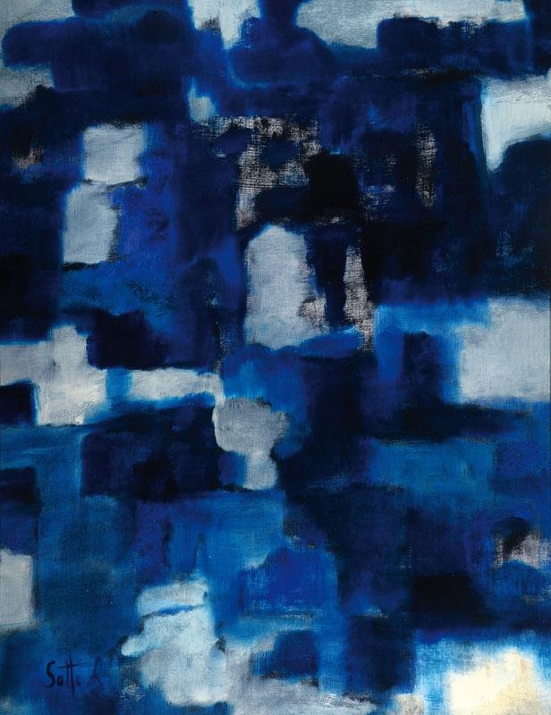Lucien Sotto, contemporary Belgian artist, acrylic