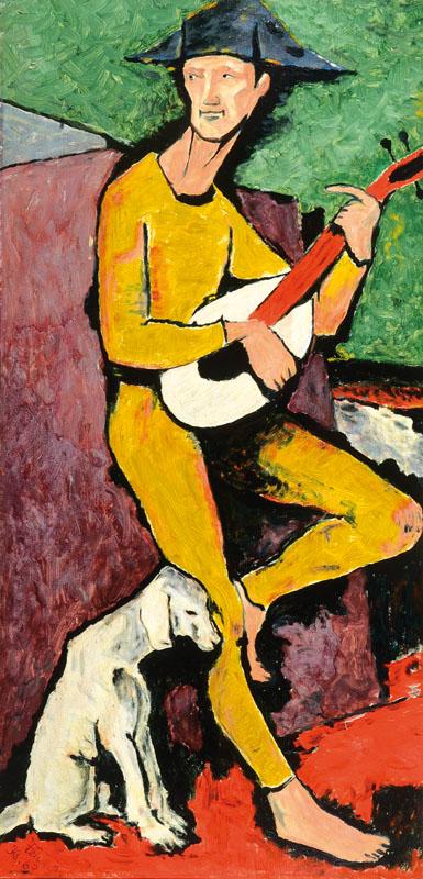 Raymond Feuillate, 1901 - 1971, oil/cardboard