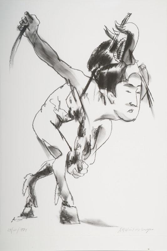 Lambert Maria Wintersberger, 1941-2010, lithograph