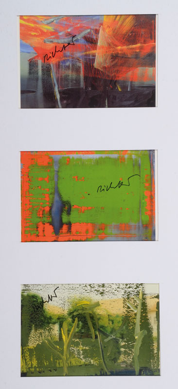 Gerhard Richter, born 1932 Dresden, three postcards