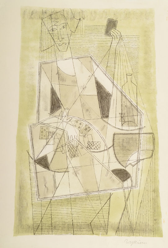 Rolf Müller-Landau, 1903-1956, lithograph