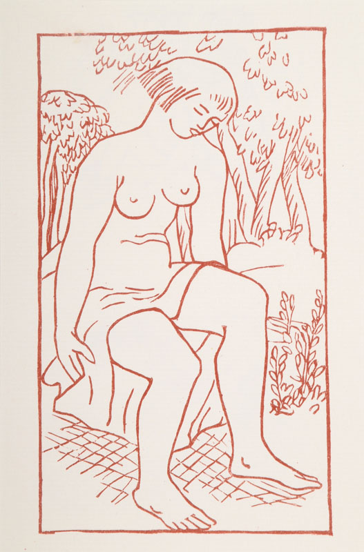Aristide Maillol, 1861-1944, four woodcuts