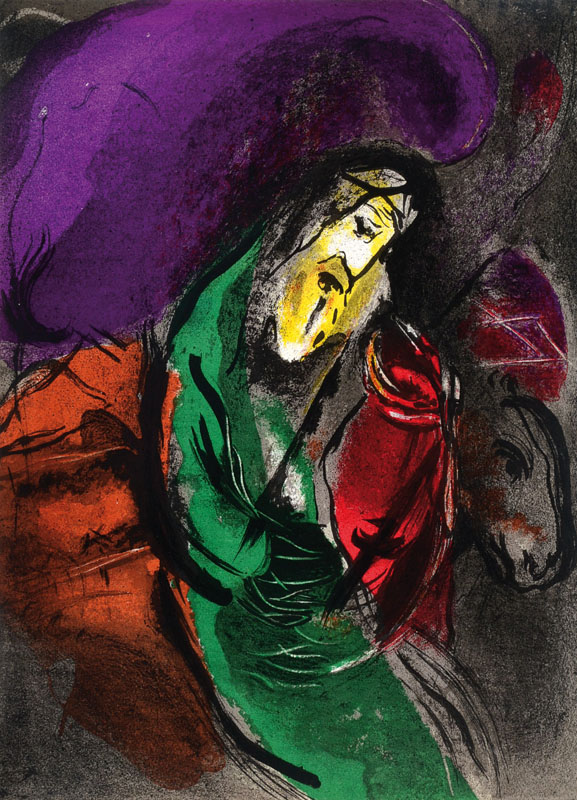 Marc Chagall, 1887-1985, convolute of two lithographs