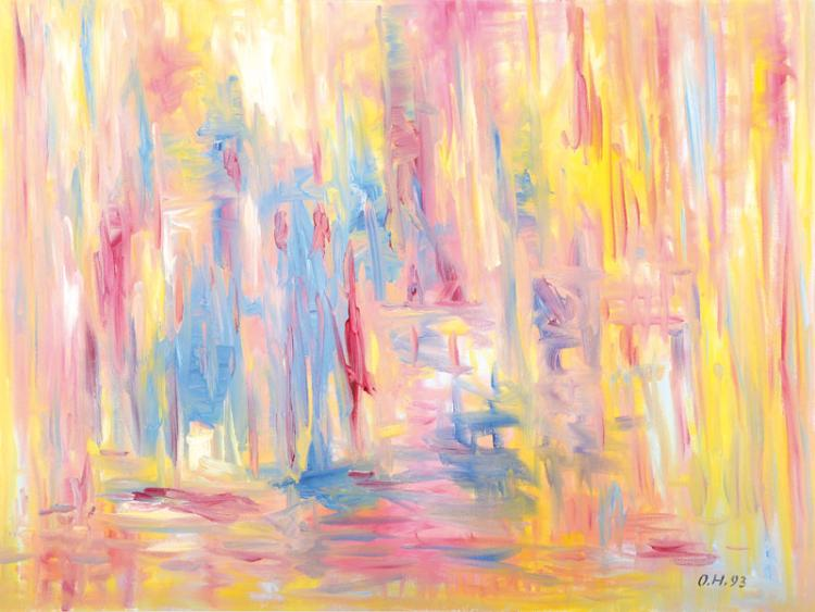 Otto Herter, 1924 - 2000, oil/canvas