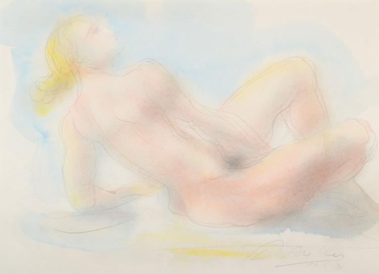 Arno Breker, 1900-1991, nude drawing