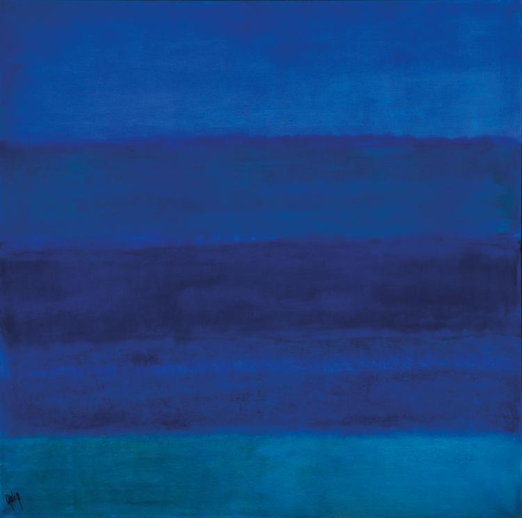 Gaston Galé, contemporary Belgian artist, oil/canvas