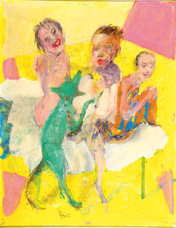 Marek Cierniewski, born 1951, Relaks, acrylic