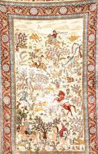 Chinese Silk Hereke,