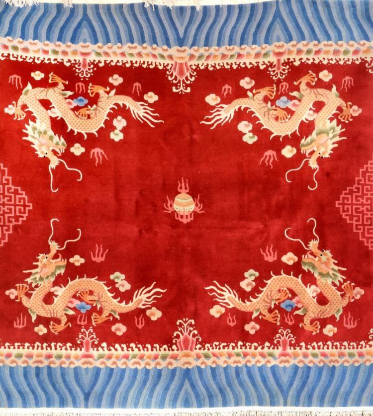 Chinese 'Dragon-Rug',