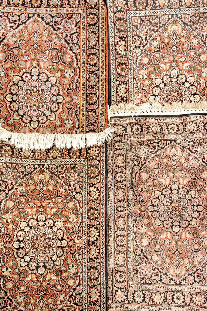 4 Lots Silk Kashmir,
