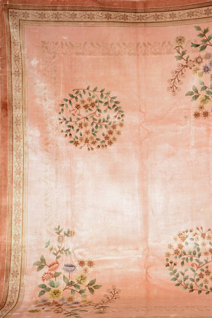 Chinese Silk 'Carpet',