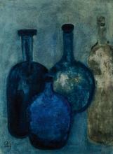 Lucien Sotto, contemporary Belgian artist, still life