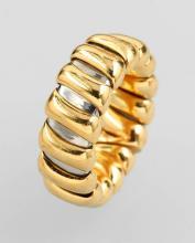 18 kt gold BULGARI Ring Tubogas