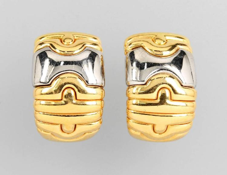 Pair of BULGARI earrings