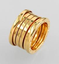 18 kt gold BULGARI ring