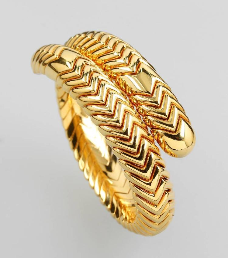 18 kt gold BULGARI Bangle