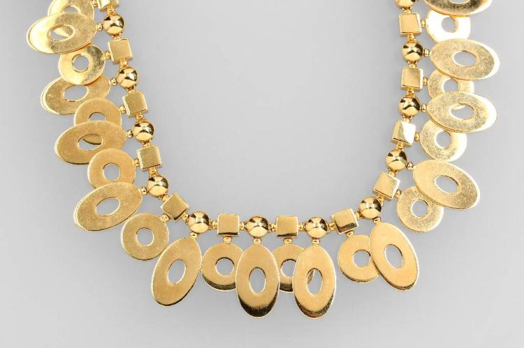 18 kt gold BULGARI necklace