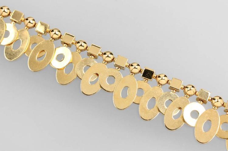 18 kt gold BULGARI bracelet