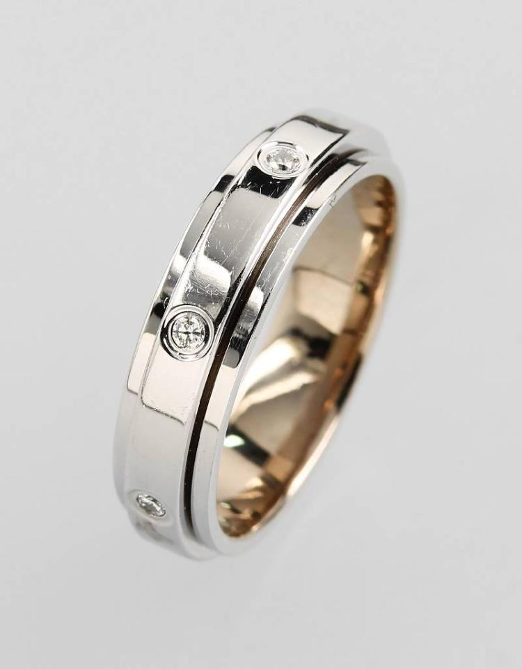 PIAGET ring with brilliants