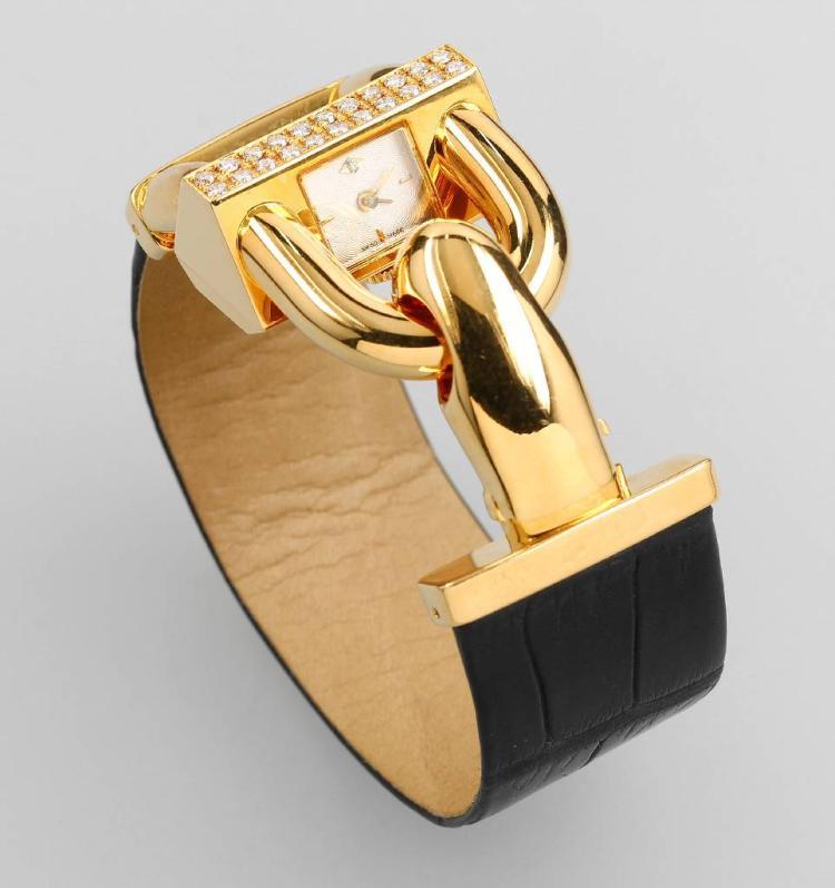 Exclusive VAN CLEEF & ARPELS ladies wristwatch 'Cadenas'