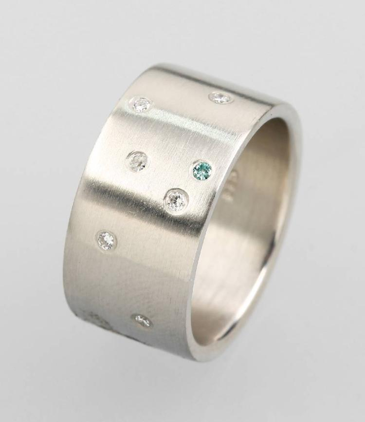 Platinum NIESSING ring with brilliants