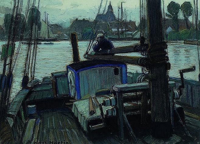Hartig, Hans, 1873 Carvin/Pommern-1936, Studium an