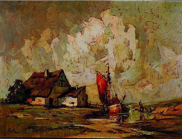 Priebe, Rudolf, 1889 Schulakow-1964, Studium an