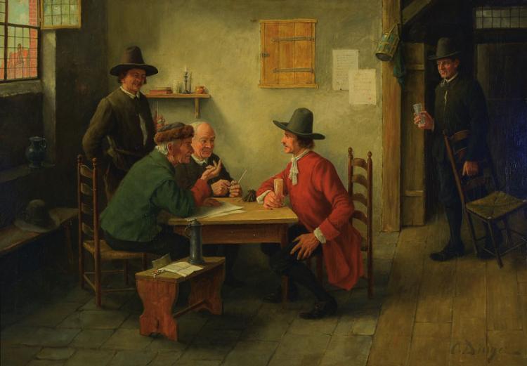 Otto Dinger 1860-1921