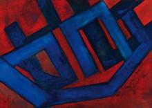 Lucien Sotto, contemporary Belgian artist, oil / canvas