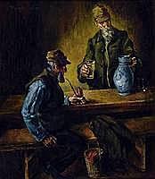 Werner, Reinhold, 1864-1939, Zwei Männer beim