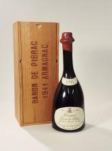 1 bottle 1941 Baron de Pibrac Armagnac, approx. 70