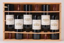 6 bottles of 2005 Chateau Margaux, Margaux, Premier