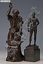 Bronzeskulptur, Wilhelm Andreas 1882-1951, Darst., Wilhelm Andreas, Click for value