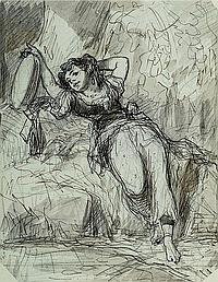 Nanteuil, Celestin Francois, 1813 Rom- 1973