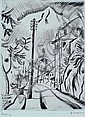 Seewald, Richard, 1889-1976, Straße in Ascona,, Richard Seewald, Click for value