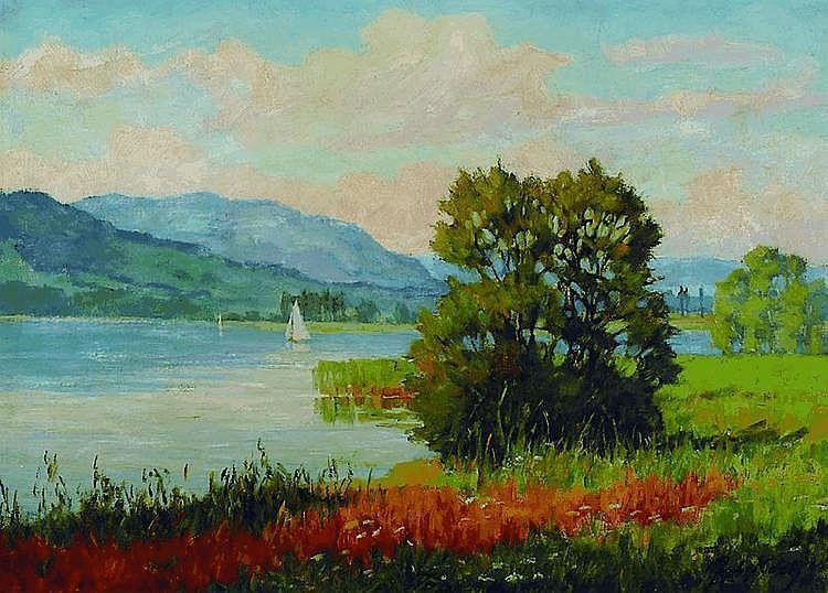 Koch, Julius, 1882 Achern-1952, Studium an der
