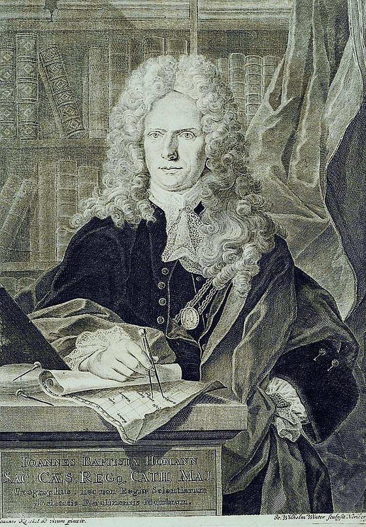 Winter, Johann Wilhelm, 1696-1757, Porträt des