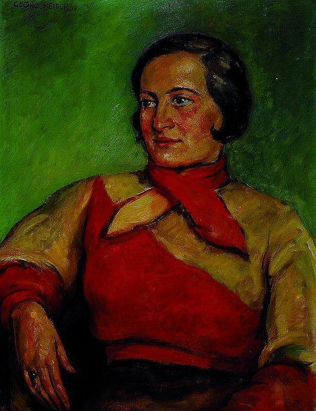 Heieck, Georg, 1903 Ludwigshafen-1977, Frau mit